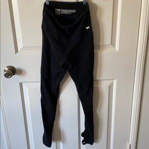 Victoria's Secret black yoga pants